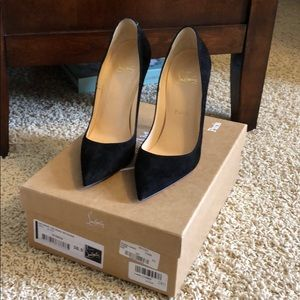 Authentic Louboutins So Kate 120 Veau Velours 6.5